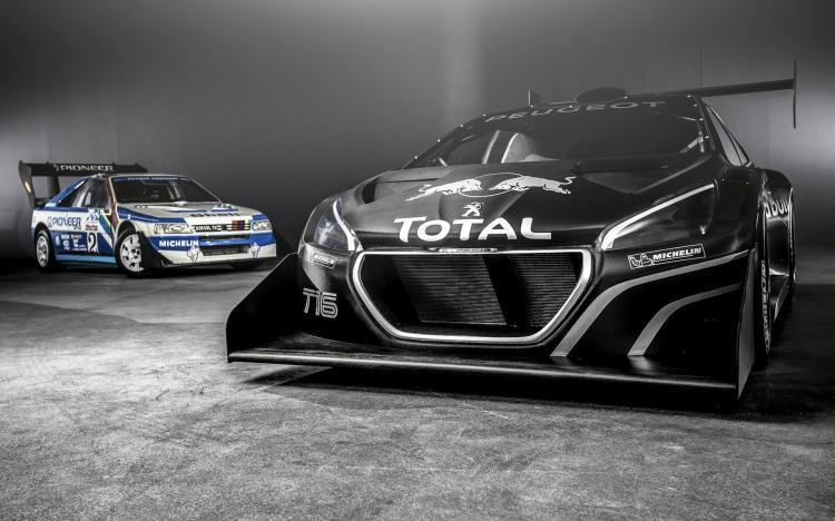 [拉力赛]标致发布208 t16派克峰赛车